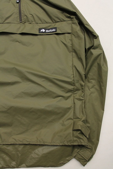 Buffalo Wind Shirt with Unlined Hood OLIVE (4)