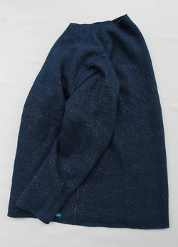 Goodon Cut off Fleece DEEP LAGOON (4)