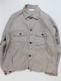 RICEMAN Work Shirt Jacket OATMEAL (8)