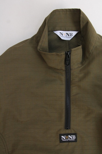 North by North East Rip Stop Pullover Jacket KHAKI (2)