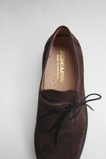 Pescador Suede Tiror Shoe D BROWN (5)