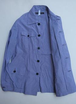 NOUN Shirt Jacket Tin Stripe NAVY (4)