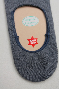 HALISON Organic Cotton Slip On Socks DENIM (3)