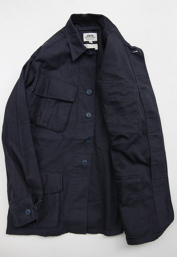 KIFFE Jangle Fatigue Jacket NAVY (2)