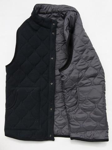ARMEN Reversible Vest GREY X BLACK (7)