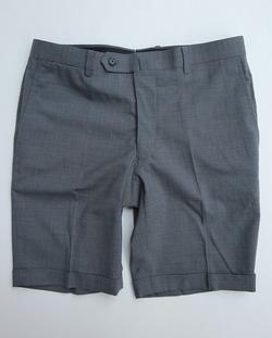 DC WHITE High twist Tropical Shorts GREY