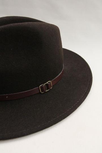 SORBATTI Mens Crushable Felt Hat BROWN (3)