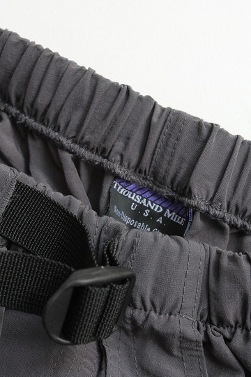 Thousand Mile Wall Shorts CHARCOAL (2)