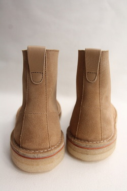Suffolk Shoes Desert Hi Top SAND Suede (8)