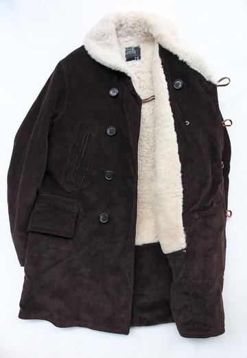 Npenthes Lonodn Corduroy Coat D BROWN (5)