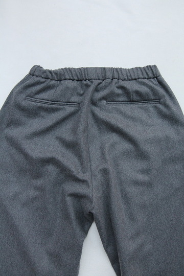 CEASTERS 2 Pleats Easy Trousers GREY  by Burel (6)