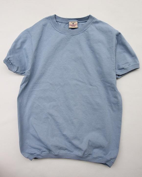 Goodwear Rib Tee SS STEEL BLUE
