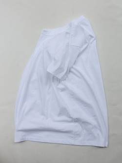 ARMEN Cotton Jersey Crew Neck S SL T WHITE (3)