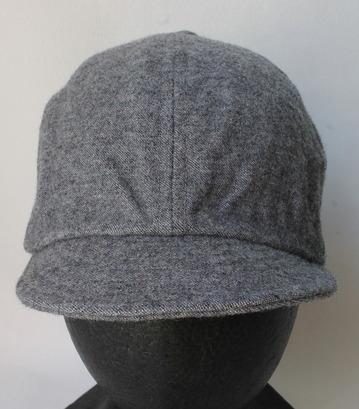 FOB Wool Baker Cap GREY