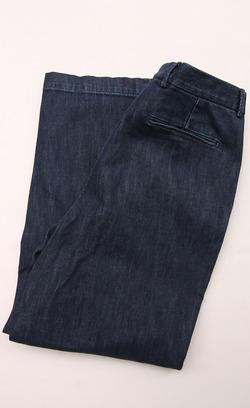 RM Mens Tuck Trouser INDIGO