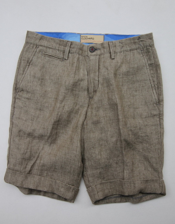 Maison Clochard Mallard Short BROWN