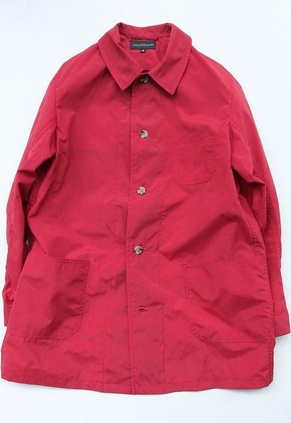 coochucamp Happy Shirt Coat RED
