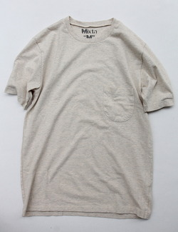 MIXTA Crew Neck with Pocket OATMEAL