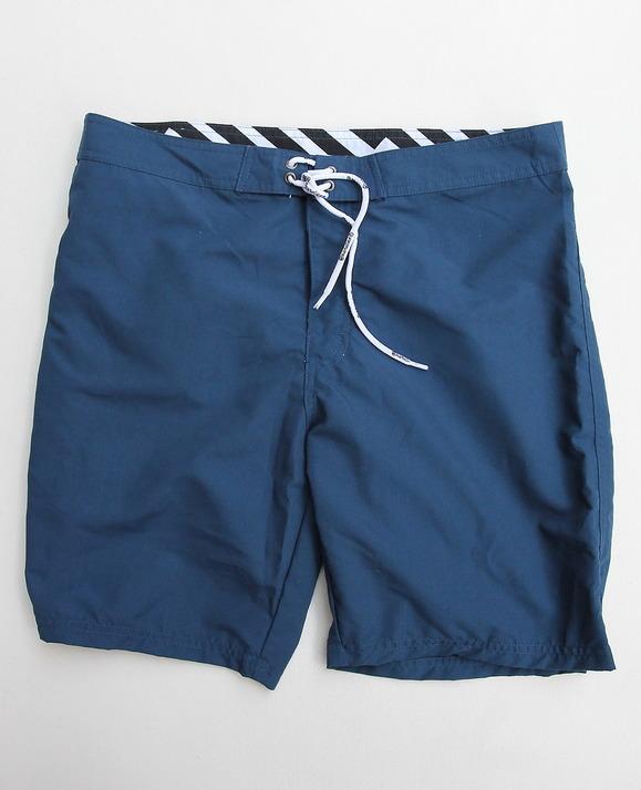 BORDIES BS121 Nylon Shorts Long NAVY