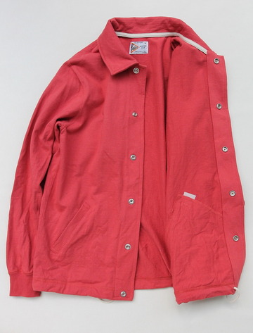 Felco Coach Jacket Supper Hard Jersey FADED RED (4)
