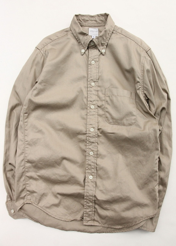 Nepenthes New York Twill BD KHAKI