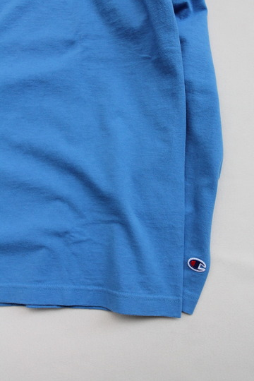 Champion T1011 Raglan Long Sleeve Tee LIGHT BLUE (4)