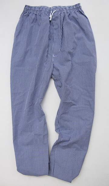Alexandra Chefs Trousers NAVY Gingh