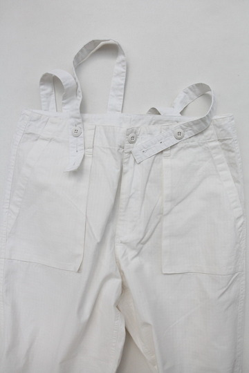 KIFFE Wide Baker Pants WHITE (3)