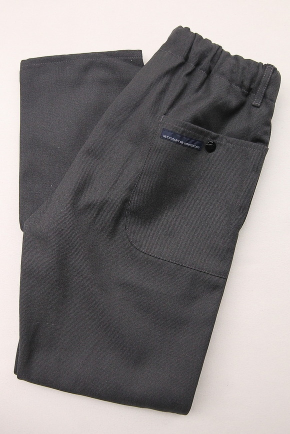 NOUN Spindle Trousers W GRAY