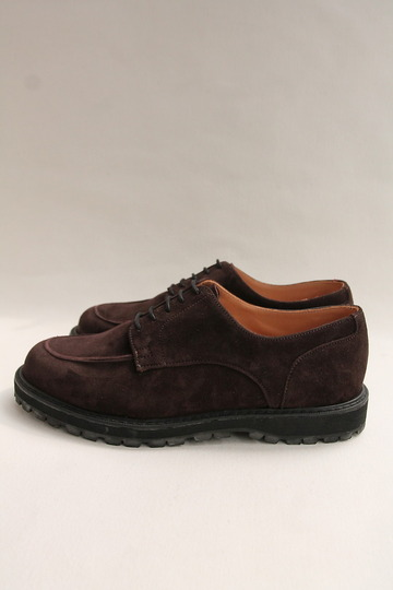 Crown Northampton Apron Shoes DK BROWN (3)