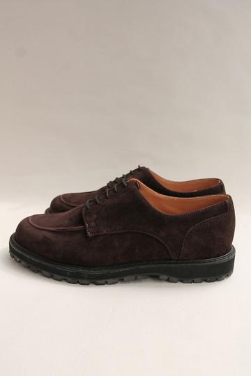 Crown Northampton Apron Shoes DK BROWN (3)