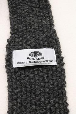 Black Sheep Tie V CHARCOAL (3)