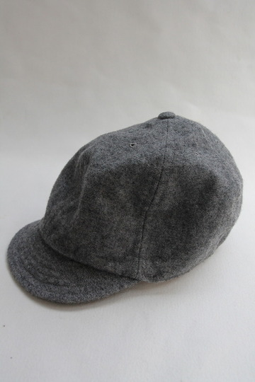 FOB Wool Baker Cap GREY (4)