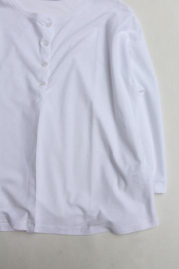 MAXOU C R Pique Crew Cardigan WHITE (3)