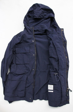 MIDA Type M65 With Hood Materiale made in Japan NAVY (4)