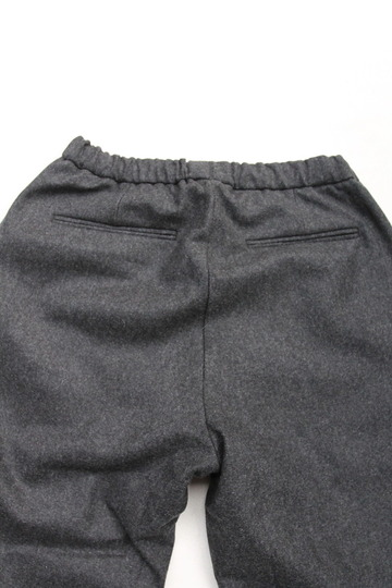 CESTERS 2 P Easy Wool Trousers by Burel CHARCOAL (4)