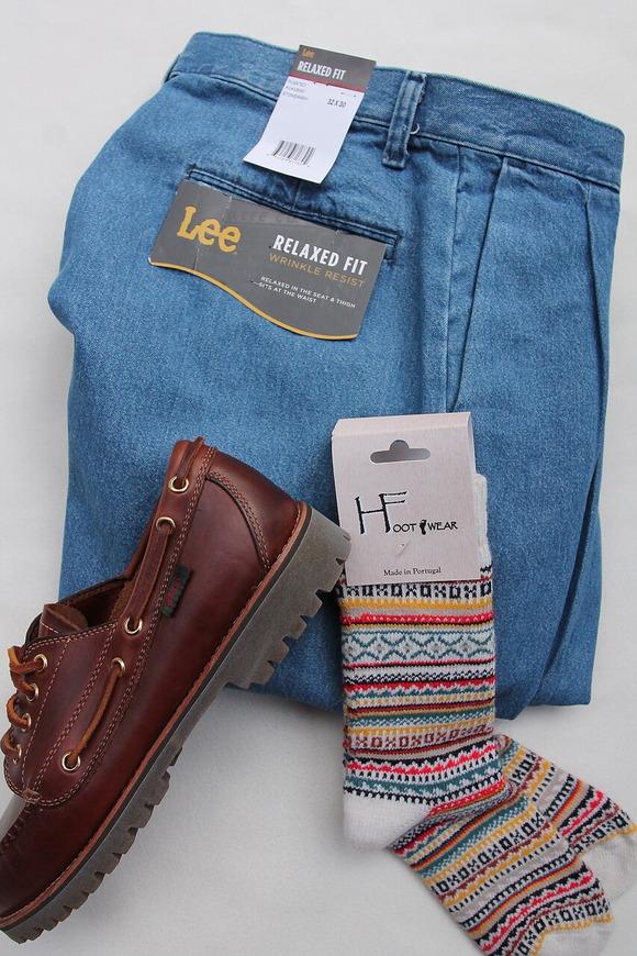 H Footwear Fair Isle WHITE