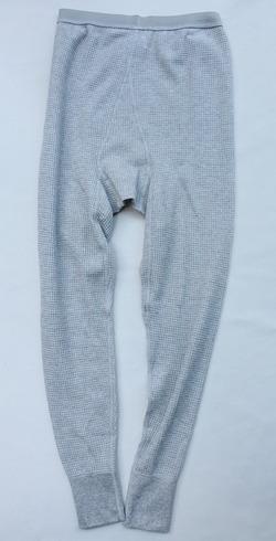 JE MORGAN Thermal Pants MOKU GREY (2)