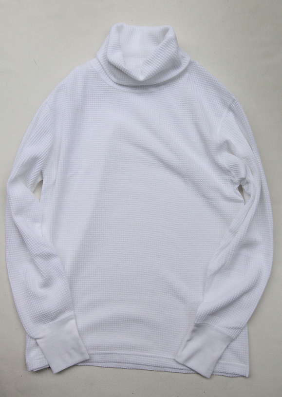 JE MORGAN Thermal Turtle Neck WHITE