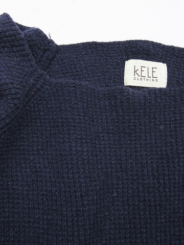 KELE CLOTHING Top MIDNIGHT BLUE (2)