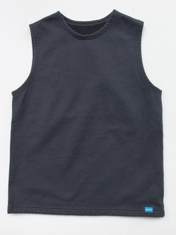 Goodon Pullover Crew Sweat Vest SMOKY BLACK