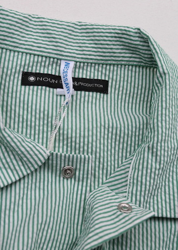 NOUN Work Pullover Stripe GREEN (3)
