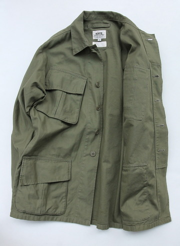 KIFFE Jangle Fatigue Jacket OLIVE (4)