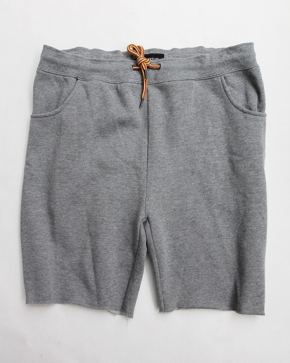 BRIXTON Folson Sweat Short HEATHER GREY