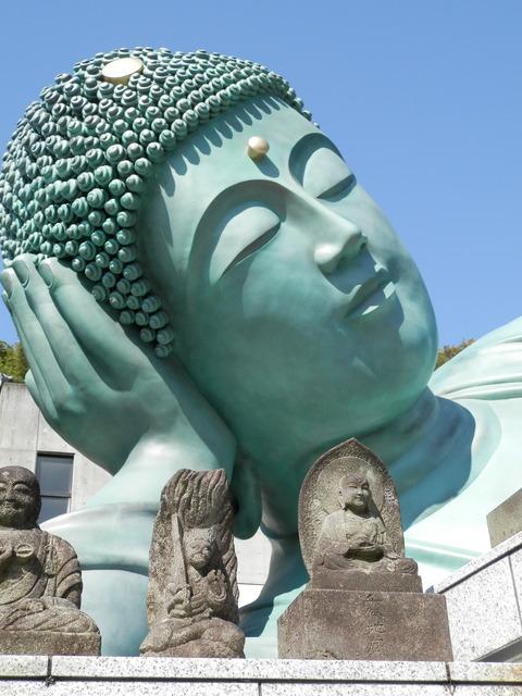 南蔵院 釈迦涅槃像 なんぞういんしゃかねはんぞう
