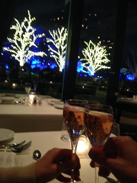 メリークリスマスの乾杯♪