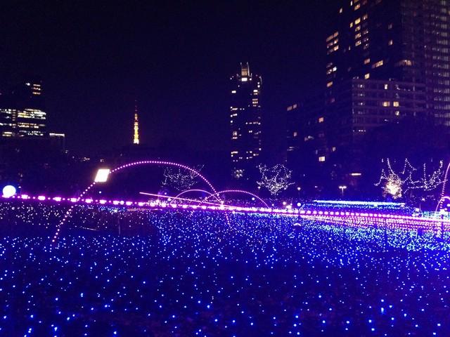 東京ミッドタウンのイルミネーション2013