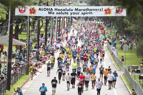 Marathon Honolulu, Hawaii