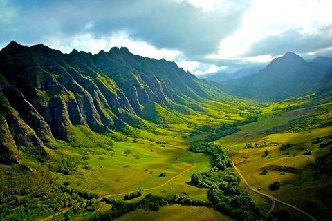 Thế giới kỷ Juratại Kualoa Ranch Hawaii