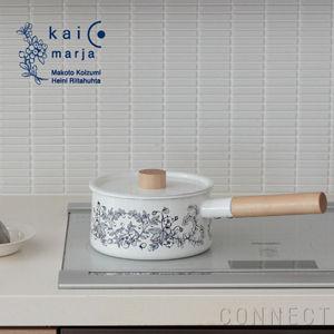 カイコ+マルヤ 片手鍋 琺瑯